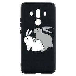 Чехол для Huawei Mate 10 Pro Кролики - FatLine
