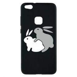 Чехол для Huawei P10 Lite Кролики - FatLine