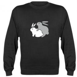 Реглан (свитшот) Кролики - FatLine