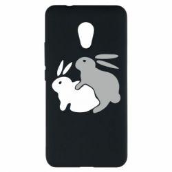 Чехол для Meizu M5s Кролики - FatLine