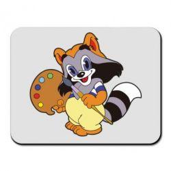 Купить Коврик для мыши Крошка Енот, FatLine