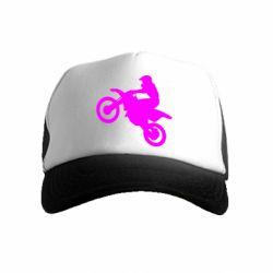 Детская кепка-тракер Кроссовый мотоцикл