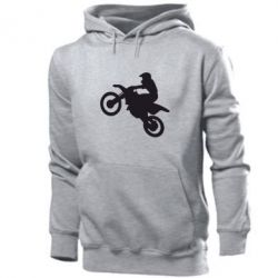 Мужская толстовка Кроссовый мотоцикл