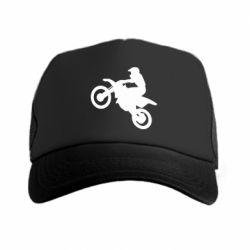 Кепка-тракер Кроссовый мотоцикл