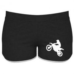 Женские шорты Кроссовый мотоцикл