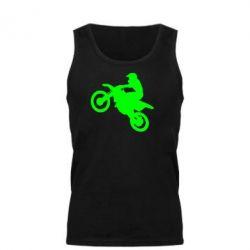 Мужская майка Кроссовый мотоцикл