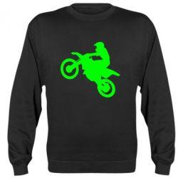 Реглан (свитшот) Кроссовый мотоцикл - FatLine