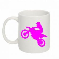 Кружка 320ml Кроссовый мотоцикл - FatLine