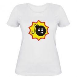 Жіноча футболка Крутий Сем - FatLine