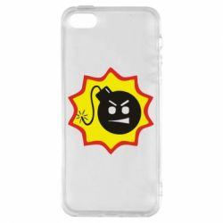 Чехол для iPhone5/5S/SE Крутой Сем
