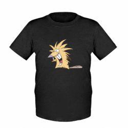 Детская футболка Крутые бобры - FatLine