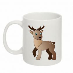 Кружка 320ml Cartoon deer