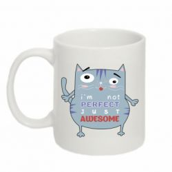 Кружка 320ml Cute cat and text