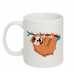 Кружка 320ml Cute sloth