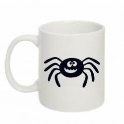 Кружка 320ml Cute spider with mustache