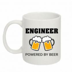 Кружка 320ml Engineer Powered By Beer