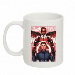 Кружка 320ml Falcon and the Winter Soldier Art