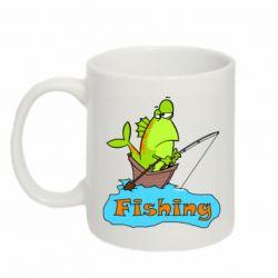 Кружка 320ml Fish Fishing