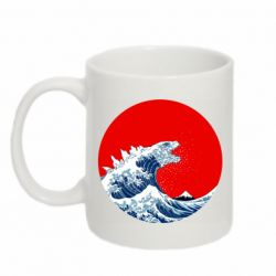 Кружка 320ml Godzilla Wave