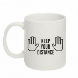Кружка 320ml Keep your distance