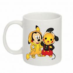 Кружка 320ml Mickey and Pikachu