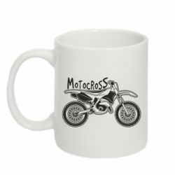 Кружка 320ml Motocross text and motorcycle