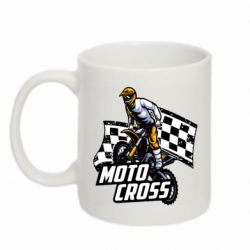 Кружка 320ml Motocross
