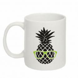 Кружка 320ml Pineapple with glasses