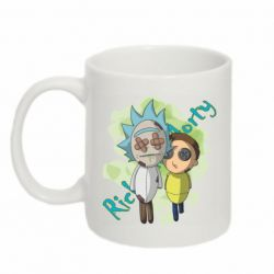 Кружка 320ml Rick and Morty voodoo doll