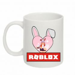 Кружка 320ml Roblox Bunny Girl Skin