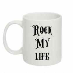 Кружка 320ml Rock my life