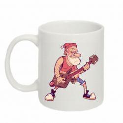 Кружка 320ml Rock'n'roll Santa