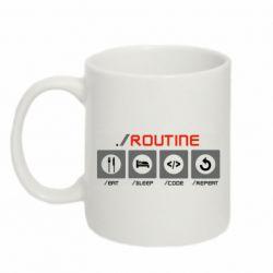 Кружка 320ml Routine code