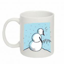 Кружка 320ml Snowman. It's Cold!