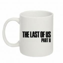 Кружка 320ml The last of us part 2 logo