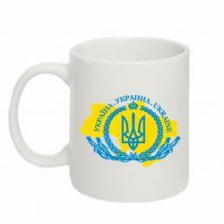 Кружка 320ml Україна Мапа