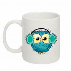 Кружка 320ml Winter owl