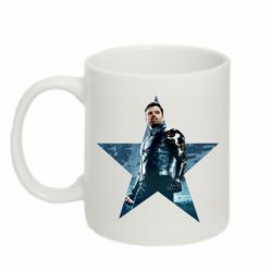 Кружка 320ml Winter Soldier Star