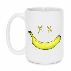 Кружка 420ml Banana smile