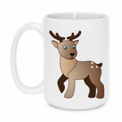 Кружка 420ml Cartoon deer