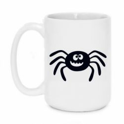 Кружка 420ml Cute spider with mustache