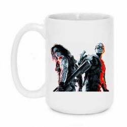 Кружка 420ml Falcon and Winter Soldier