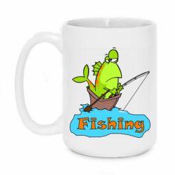 Кружка 420ml Fish Fishing