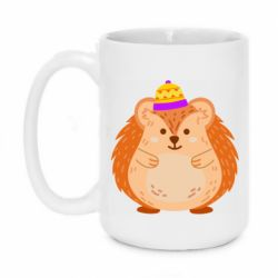Кружка 420ml Little hedgehog in a hat