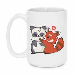 Кружка 420ml Panda and fire panda