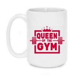 Кружка 420ml Queen Of The Gym