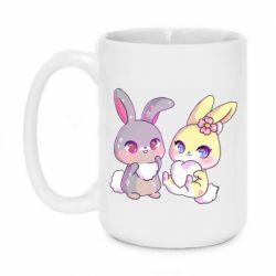 Кружка 420ml Rabbits In Love