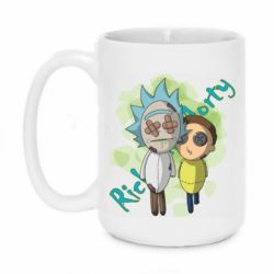 Кружка 420ml Rick and Morty voodoo doll