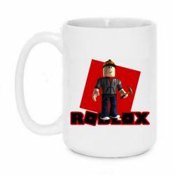 Кружка 420ml Roblox Builderman