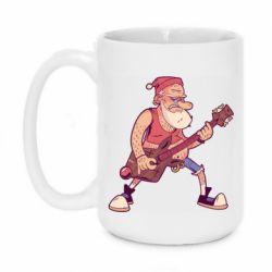 Кружка 420ml Rock'n'roll Santa